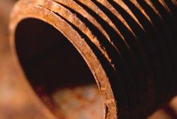 Rust is the corrosion of iron that takes place in the presence of water and oxygen.