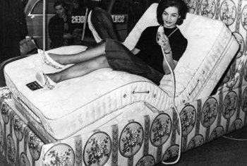 Adjustable beds first became popular in the 1960s, and the technology has improved since.