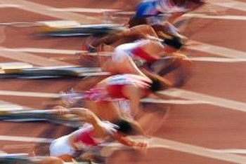 Training to become a blur on the track differs from long-distance training.