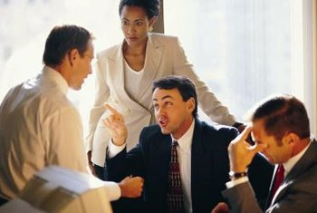 Federal mediators work to resolve conflicts in labor relations.