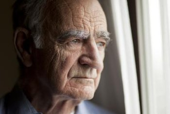 Elderly people who become depressed may need mental health care.