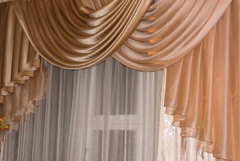 Waterfall valances add a classic elegance to a room.