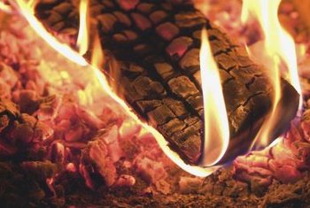 Wood ash provides potassium, also known as potash, to garden soil.