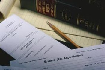 Legal matters must be documented in writing.