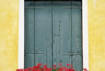 Window boxes add color and beauty to your home.