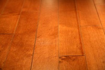 Hardwood floors come in a variety of styles and colors.