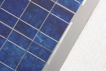 A solar system can make your electric meter spin backward.