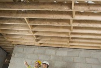 Notching a joist can reduce its load-bearing capacity.
