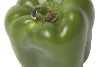 Most bell pepper plants produce edible green peppers.