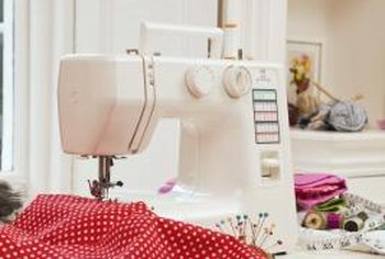An ideal sewing room allows you to find what you need when you need it.