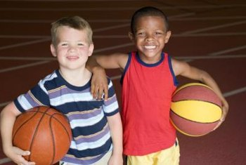 Third and fourth grade is when many children first start to play basketball.