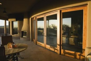 Round homes can have walls of windows that provide spectacular panoramic views.