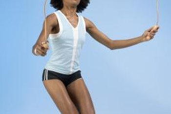Jumping rope is an exercise that can burn hundreds of calories quickly.