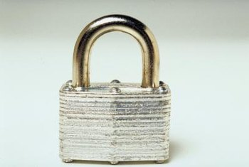 A padlock icon typically denotes a secure connection.