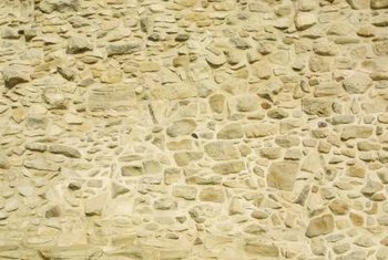 Natural sandstone comes in a variety of shapes and sizes.