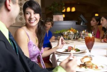 Coat check service is common at high-class dining establishments.