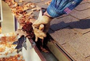 Keep your gutters clean to avoid water damage and rot.