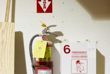 Keep a fire extinguisher in your home, and know how to use it.