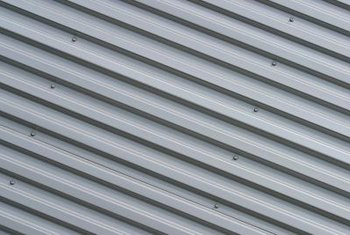 Keep your metal shed waterproof with silicone caulk.