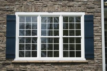 Individual windows can be made into a solid unit through mulling.