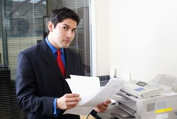 Network printers allow multiple computers to print documents to a single printer.