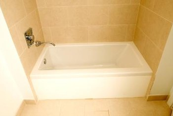 Acrylic tubs need to be mounted on a level and stable subfloor.