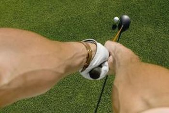 Building up your forearms will help strengthen your golf game.