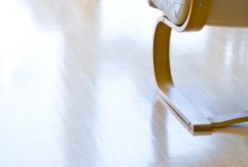 Bamboo flooring has a grain that's different than hardwood, giving your room a more tropical feel.