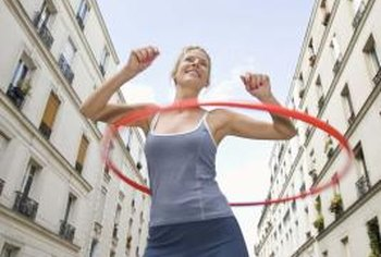 Hooping offers a host of benefits, including burning fat -- though not always from your tummy.