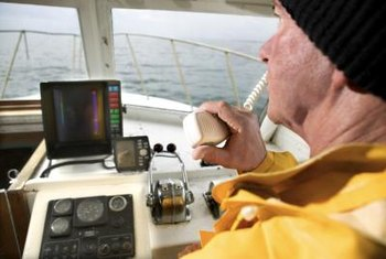 Boat captains ensure that proper safety procedures are followed.