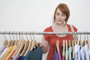 Image consultants often provide personal shopping services for clients.