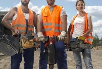 Require workers to wear safety vests, goggles and helmets to reduce risks.