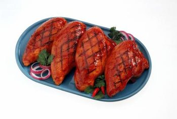 Go for lean sources of protein such as skinless chicken breast.