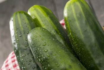 Store cucumbers in the refrigerator for up to two weeks.