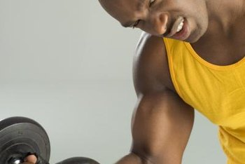 Men naturally have higher levels of muscle-building hormones than women.