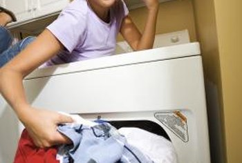 If your clothes aren't drying, you may need to clear the vents.