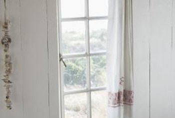 Easy-to-make curtains give your home decor the distinctive look you want.