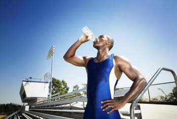 Staying hydrated assists your body in regulating internal temperature.
