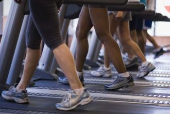 Treadmills may be adjusted to mimic outdoor conditions.