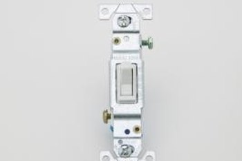 A single-pole switch is used to control lights from a sinle location.