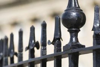 It's important to begin with a smooth, clean and dry surface before priming and painting a wrought iron railing.