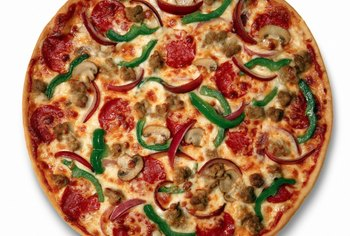Certain ingredients improve the nutritional value of your pizza.