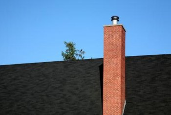 When your chimney is beneath the peak of your roof, it can be prone to leaking.