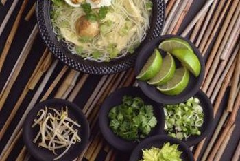 Many Vietnamese foods supply protein and vitamin C.