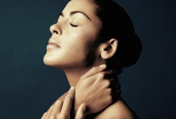 A massage can also help relieve tension in the head and neck.
