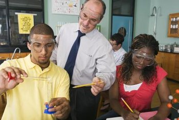 Chemistry teachers typically teach students at the high school level.