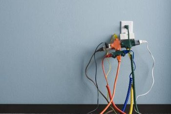 Installing a second electrical outlet can eliminate safety hazards such as this.