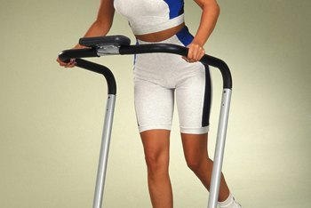 Turn up the incline when walking on a treadmill to target the butt and maintain muscle mass.