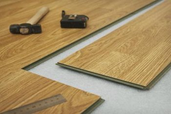 Laminate floors are an easy DIY project that offers the look of hardwood at a fraction of the cost.