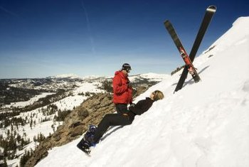 Wilderness paramedics may work as ski patrollers.